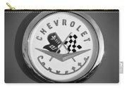 1957 Chevrolet Corvette Emblem Carry-all Pouch