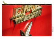 1957 Gmc Hydramatic V8 Emblem Carry-all Pouch