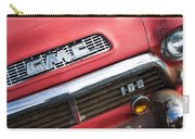 1957 Gmc V8 Pickup Truck Grille Emblem Carry-all Pouch