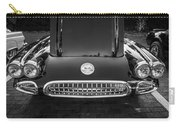 1959 Chevy Corvette Convertible Bw  Carry-all Pouch