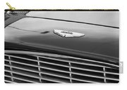 1960 Aston Martin Db4 Grille Emblem Carry-all Pouch by Jill Reger