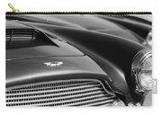 1960 Aston Martin Db4 Series II Grille - Hood Emblem Carry-all Pouch by Jill Reger