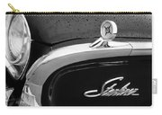 1960 Ford Galaxie Starliner Hood Ornament - Emblem Carry-all Pouch by Jill Reger