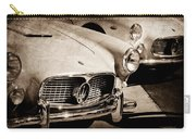 1960 Maserati Grille Emblem Carry-all Pouch by Jill Reger