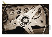 1960 Maserati Steering Wheel Emblem Carry-all Pouch