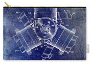 1961 Propeller Patent Drawing Carry-all Pouch