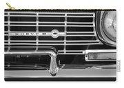 1962 Chevrolet Nova Grille Emblem Carry-all Pouch