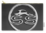 1963 Chevrolet Impala Ss Emblem Carry-all Pouch