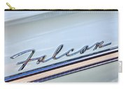 1963 Ford Falcon Futura Convertible  Emblem Carry-all Pouch by Jill Reger