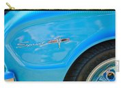 1963 Ford Falcon Sprint Side Emblem Carry-all Pouch by Jill Reger