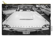 1964 Ford Thunderbird Painted Bw  Carry-all Pouch