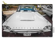 1964 Ford Thunderbird Painted Carry-all Pouch