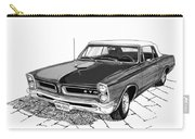 1965 Pontiac G T O Convertible Carry-all Pouch