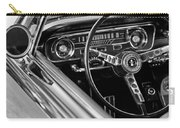 1965 Shelby Prototype Ford Mustang Steering Wheel Carry-all Pouch