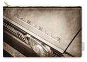 1967 Chevrolet Chevelle Hood Emblem Carry-all Pouch