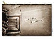 1967 Chevrolet Chevelle Super Sport Taillight Emblem Carry-all Pouch