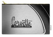 1967 Chevrolet Corvette Glove Box Emblem Carry-all Pouch