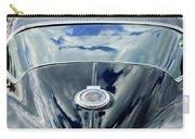 1967 Chevrolet Corvette Rear Emblem Carry-all Pouch by Jill Reger