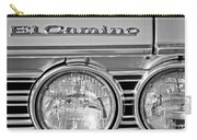 1967 Chevrolet El Camino Pickup Truck Headlight Emblem Carry-all Pouch