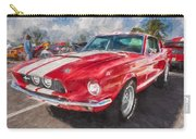 1967 Ford Shelby Mustang Gt500 Painted  Carry-all Pouch