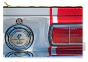 1968 Ford Mustang Fastback 427 Ci - Cobra Emblem Carry-all Pouch