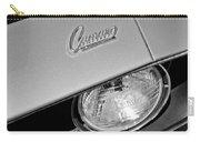 1969 Chevrolet Camaro Headlight Emblem Carry-all Pouch