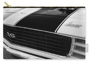 1969 Chevrolet Camaro Rs-ss Indy Pace Car Replica Grille - Hood Emblems Carry-all Pouch