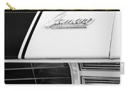 1969 Chevrolet Camaro Rs-ss Indy Pace Car Replica Hood Emblem Carry-all Pouch by Jill Reger
