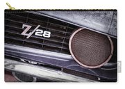 1969 Chevrolet Camaro Z28 Grille Emblem Carry-all Pouch