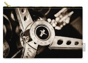 1969 Ford Mustang Mach 1 Steering Wheel Carry-all Pouch by Jill Reger