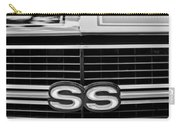 1970 Chevrolet Chevelle Ss 454 Grille Emblem Carry-all Pouch