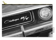 1970 Dodge Challenger Rt Convertible Grille Emblem Carry-all Pouch
