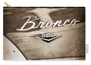 1972 Ford Bronco Emblem Carry-all Pouch