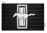 1972 Ford Mustang Boss 302 Grille Emblem Carry-all Pouch
