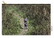 2 Photographers Walking Through Tall Grass Carry-all Pouch