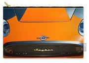2009 Spyker C8 Laviolette Lm85 Grille Emblem Carry-all Pouch by Jill Reger
