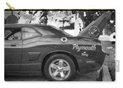 2010 Plymouth Superbird Bw  Carry-all Pouch