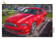 2013 Ford Mustang Gt Cs Painted  Carry-all Pouch