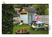 A Backyard Chicken Coop In Bellingham Carry-all Pouch