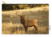 A Bull Elk In Rut Carry-all Pouch