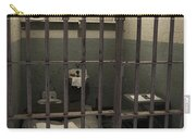 A Cell In Alcatraz Prison Carry-all Pouch by RicardMN Photography