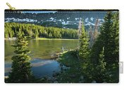 A Fly Fisherman Fishes A High Alpine Carry-all Pouch
