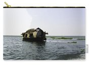 A Houseboat Moving Placidly Through A Coastal Lagoon In Alleppey Carry-all Pouch