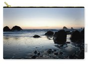 A Landscape Of Rocks On The Coast Carry-all Pouch