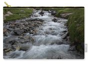 A Mountain Stream In Vanoise National Carry-all Pouch