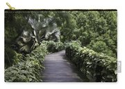 A Raised Walking Path Inside The National Orchid Garden In Singapore Carry-all Pouch
