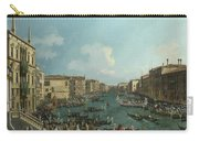 A Regatta On The Grand Canal Carry-all Pouch