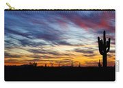 A Silhouette Sunset  Carry-all Pouch