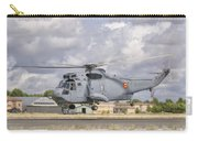 A Spanish Navy Sh-3d Helicopter Carry-all Pouch