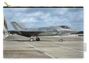 A U.s. Air Force F-35a Taxiing At Eglin Carry-all Pouch